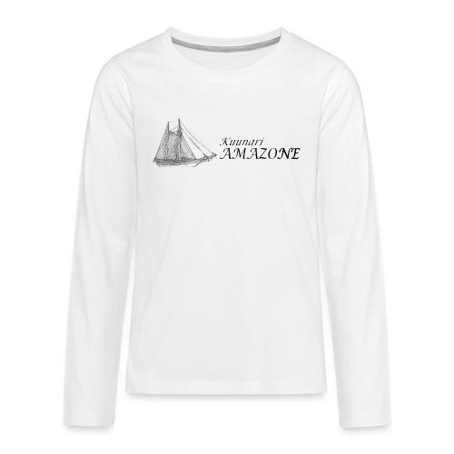 vessel-png - Teinien premium pitkähihainen t-paita
