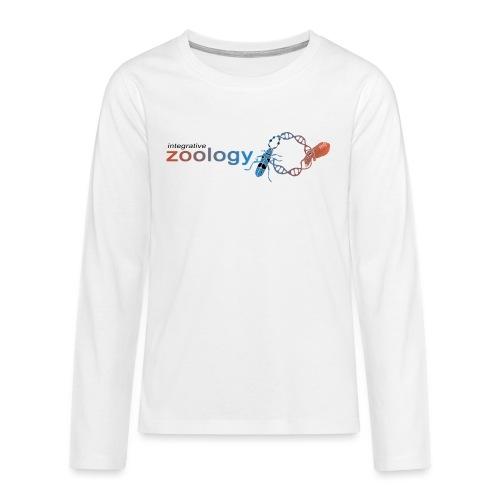 Integrative Zoology Department Logo (bright) - Teenagers' Premium Longsleeve Shirt