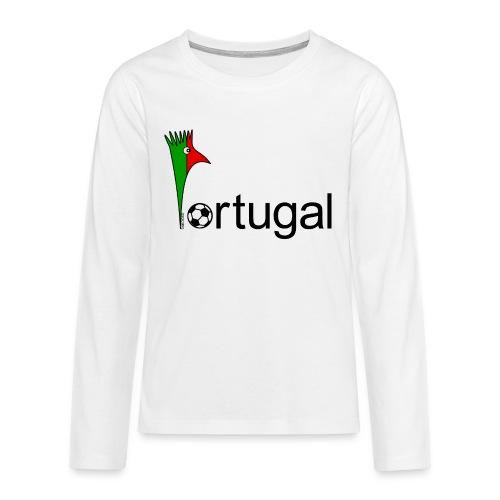 Galoloco Portugal 1 - Teenager Premium Langarmshirt