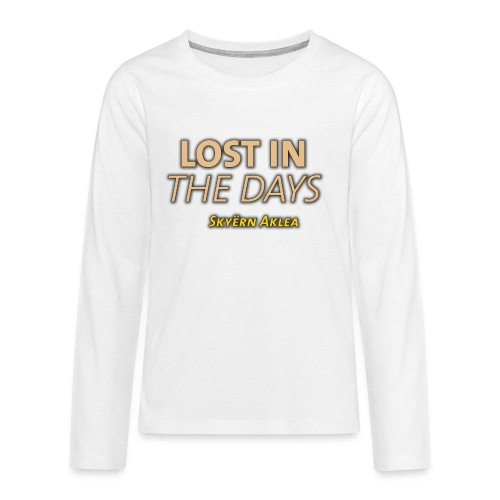 SKYERN AKLEA LOST IN THE DAYS - T-shirt manches longues Premium Ado