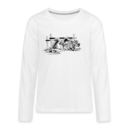 PonyFall Thelwell Cartoon - Teenagers' Premium Longsleeve Shirt