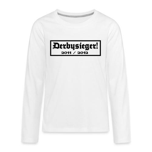 Derbysieger 2012 - Teenager Premium Langarmshirt
