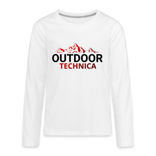 Outdoor Technica - Teenagers' Premium Longsleeve Shirt