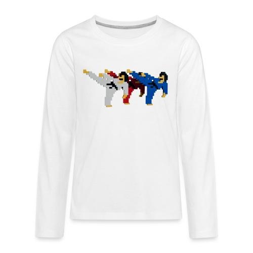 8 bit trip ninjas 2 - Teenagers' Premium Longsleeve Shirt