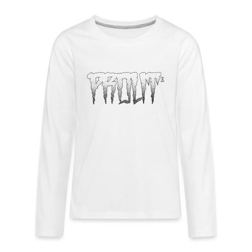 Horror PROUT - black - Teenagers' Premium Longsleeve Shirt
