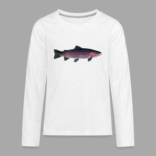 Trout - Teinien premium pitkähihainen t-paita