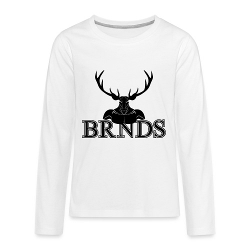 BRNDS - Maglietta Premium a manica lunga per teenager