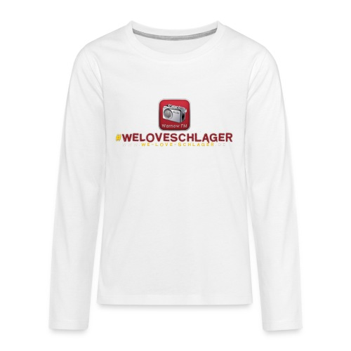WeLoveSchlager de - Teenager Premium Langarmshirt