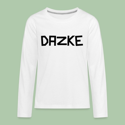 dazke_bunt - Teenager Premium Langarmshirt