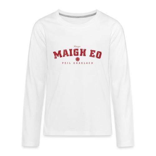mayo vintage - Teenagers' Premium Longsleeve Shirt