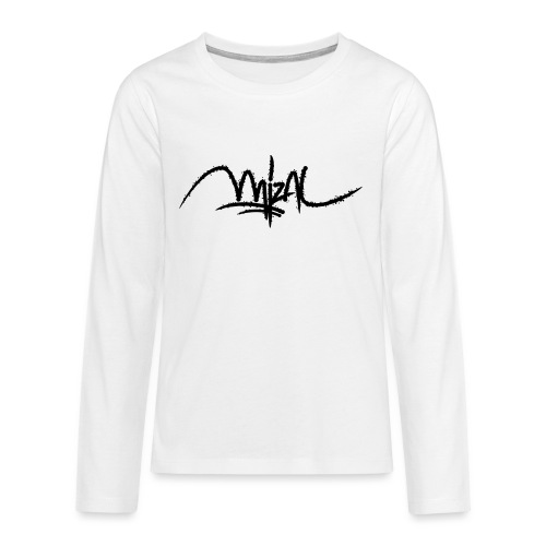 MizAl 2K18 - Koszulka Premium z długim rękawem dla nastolatków