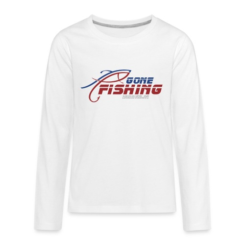 GONE-FISHING (2022) DEEPSEA/LAKE BOAT COLLECTION - Teenagers' Premium Longsleeve Shirt