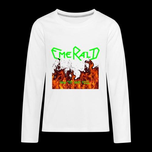 htgkbutton - Teenager Premium Langarmshirt