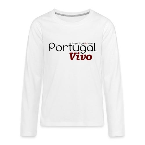 Portugal Vivo - T-shirt manches longues Premium Ado
