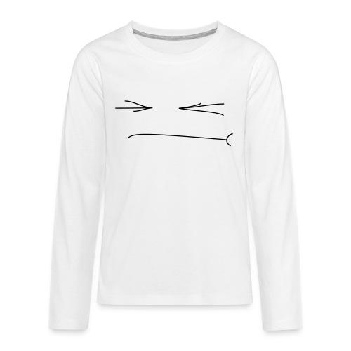 Gepfetzt - Teenager Premium Langarmshirt