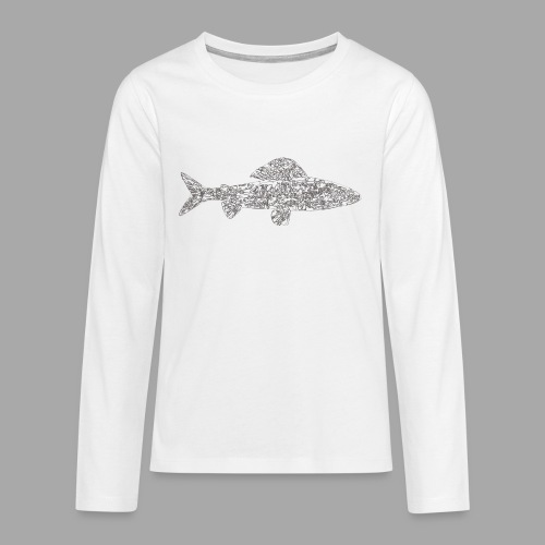 grayling - Teinien premium pitkähihainen t-paita