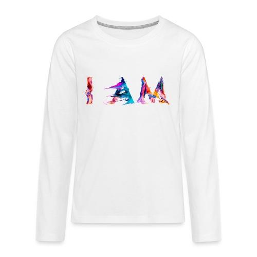 I AM - T-shirt manches longues Premium Ado