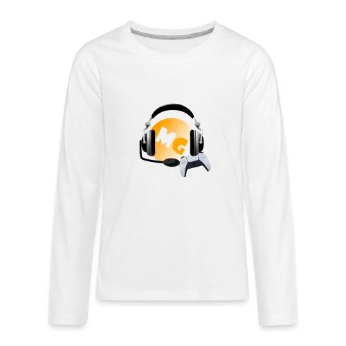 Mg gamer - Teenager premium T-shirt med lange ærmer