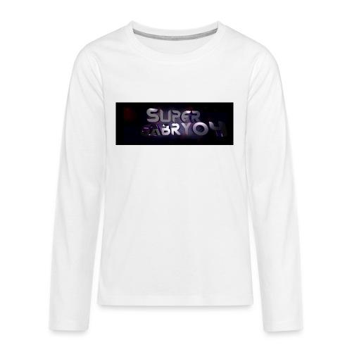 SUPERGABRY04 - Maglietta Premium a manica lunga per teenager