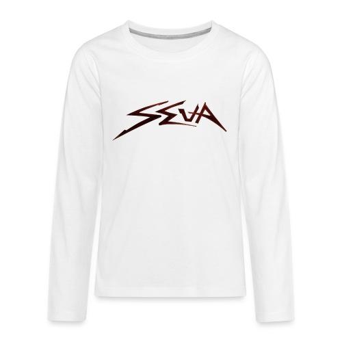 SEUA logo Speedy original design - Långärmad premium T-shirt tonåring
