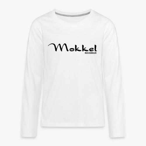 mokkel - Teenager Premium shirt met lange mouwen