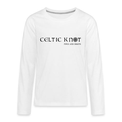 Celtic knot - Maglietta Premium a manica lunga per teenager
