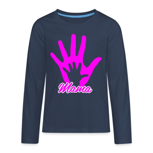 mamas hand - T-shirt manches longues Premium Ado