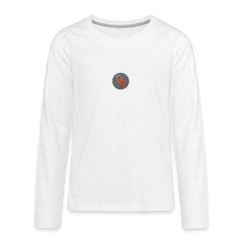 Festivalpodden - Loggan - Långärmad premium T-shirt tonåring