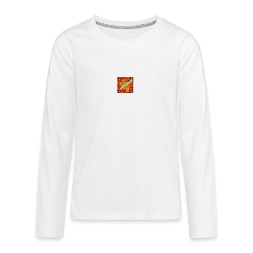 sverimasken2 - Långärmad premium T-shirt tonåring