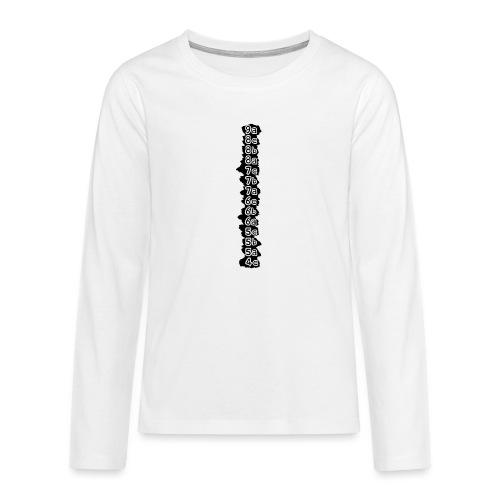 cotation - T-shirt manches longues Premium Ado