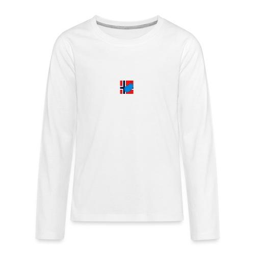 NorPot SAS ACE - Premium langermet T-skjorte for tenåringer