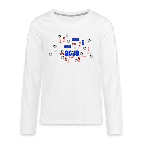 Football Event of the year 2018 - T-shirt manches longues Premium Ado