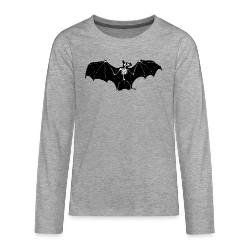 Bat skeleton #1 - Teenagers' Premium Longsleeve Shirt