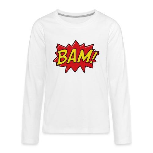 bamtamelijk - Teenager Premium shirt met lange mouwen