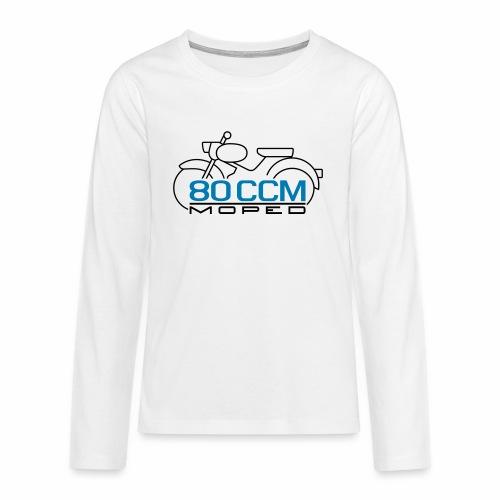 Moped sparrow 80 cc emblem - Teenagers' Premium Longsleeve Shirt