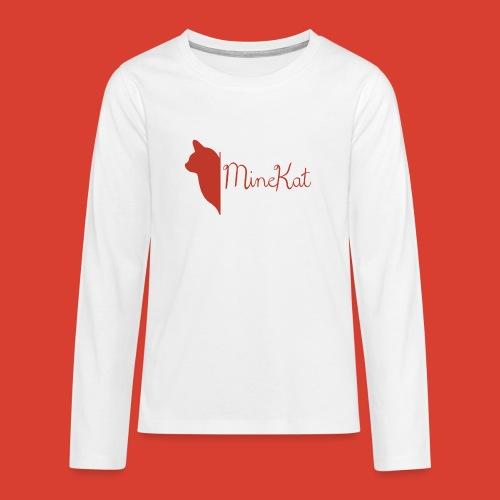 fulllogoandtext png - Teenagers' Premium Longsleeve Shirt