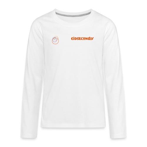 Eidsecondos better diversity - Teenager Premium Langarmshirt