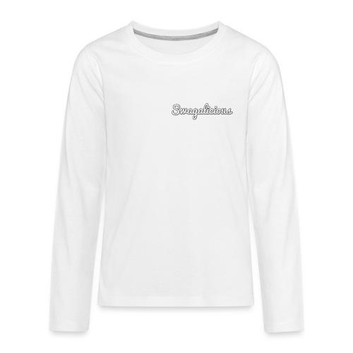 swagalicious png - Teenagers' Premium Longsleeve Shirt