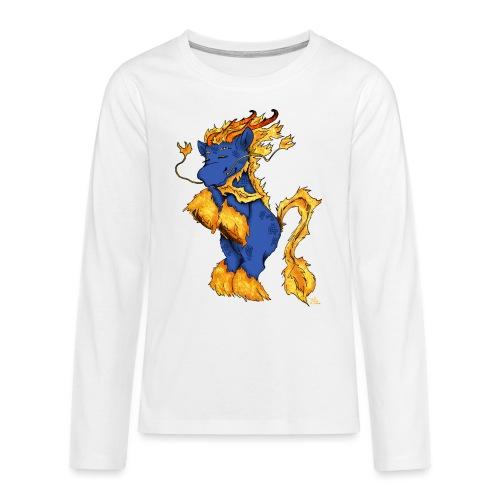 Quilin / Kirin - Teenager Premium Langarmshirt