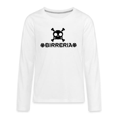 Kids Skull Birreria - Teenager Premium Langarmshirt