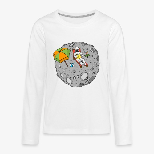 To the Moon - T-shirt manches longues Premium Ado
