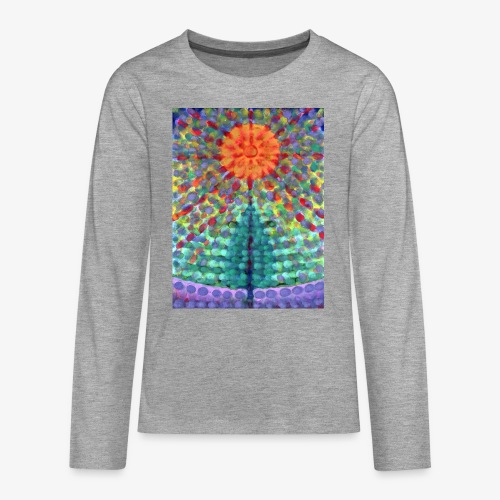 Miraż - Koszulka Premium z długim rękawem dla nastolatków