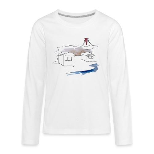 Blokhus 1 - Teenager premium T-shirt med lange ærmer