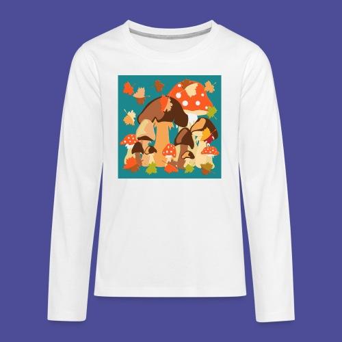 Pilze - Teenager Premium Langarmshirt