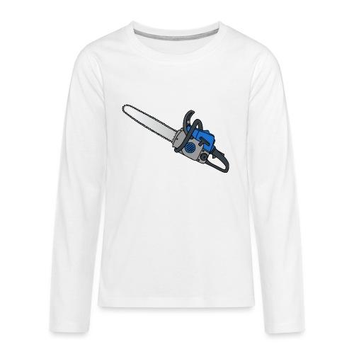 Kettensäge - Teenager Premium Langarmshirt