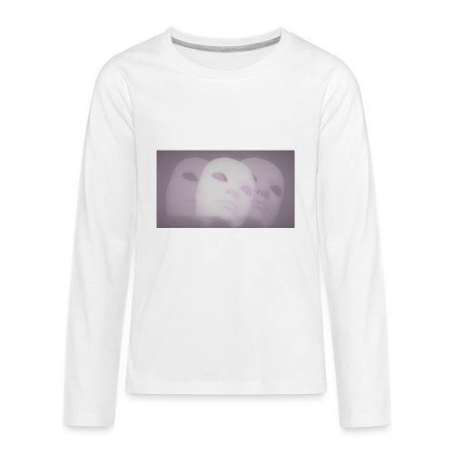 Maschere lilla - Maglietta Premium a manica lunga per teenager