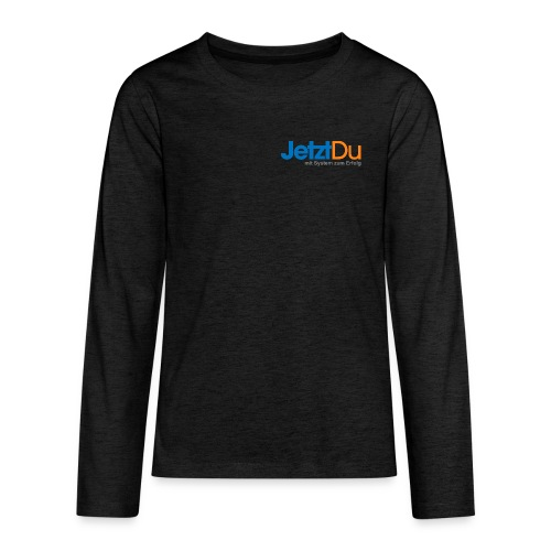 JetztDuLogo ArtWork1 - Teenager Premium Langarmshirt