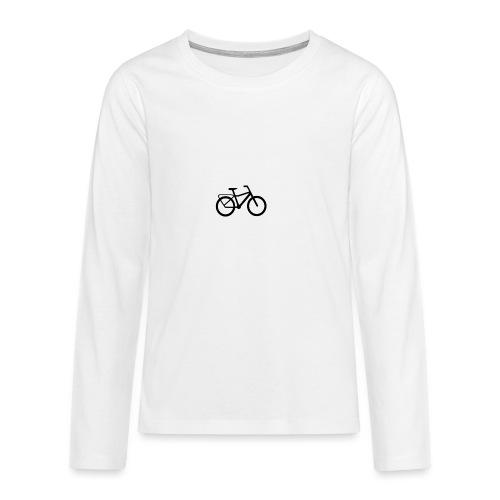 BCL Shirt Back White - Teenagers' Premium Longsleeve Shirt