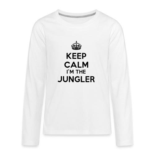 Keep calm I'm the Jungler - T-shirt manches longues Premium Ado