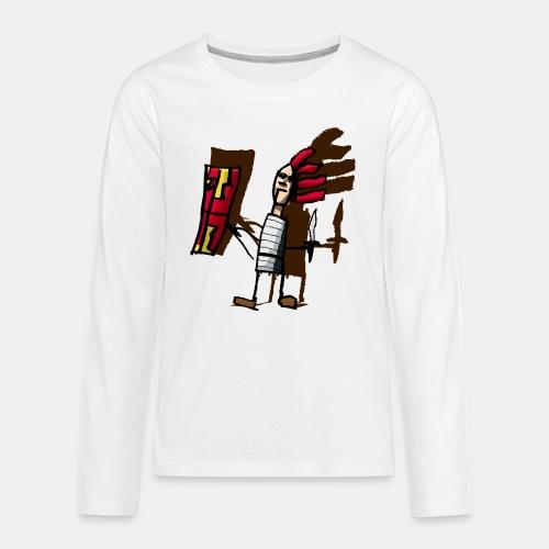 Romano color pantone - Camiseta de manga larga premium adolescente